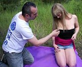My First Public – Worst public experience ever with cute blonde teen