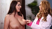 Beautiful lesbians Carter Cruise and Angela White at Girlsway